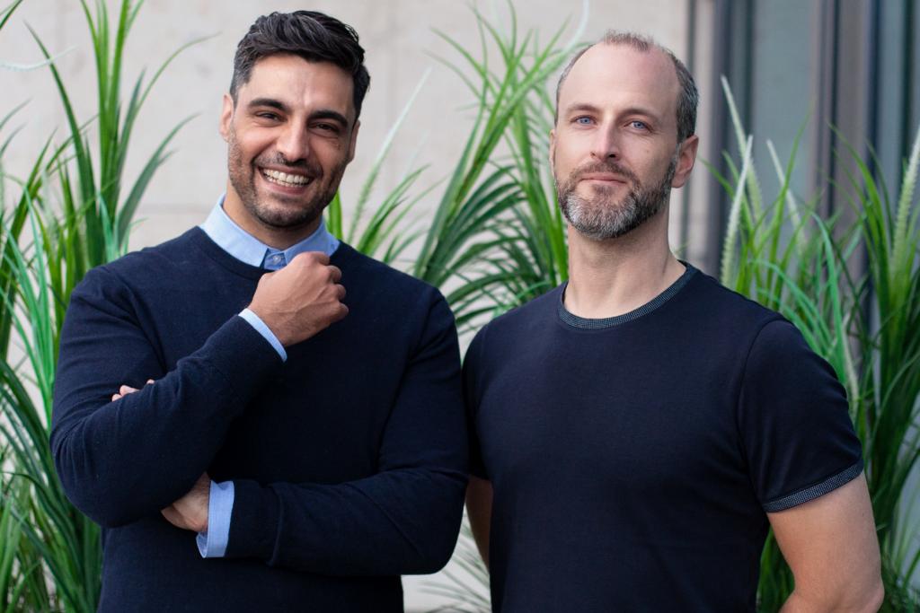 Gründer und Geschäftsführer Atilla Sayan und Dominik Maurer